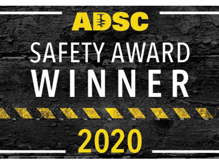 ADSC Safety Award winner icon