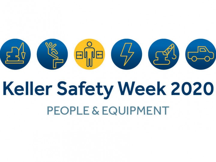 Keller Safety Week 2020 logo