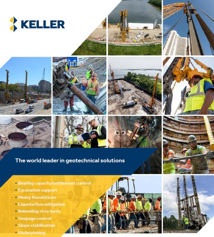 Keller North America brochure front page