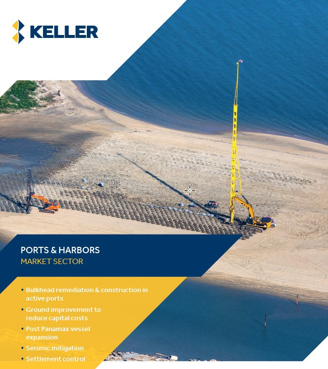 Keller Ports and Harbors brochure front page