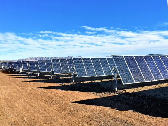 Texas Solar Facility solar panels